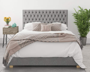 Better Nighty Night Grey Ottoman Bed-Ottoman Beds-Better Bed Company-Single-Better Bed Company