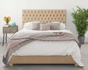 Better Nighty Night Champagne Beige Ottoman Bed-Better Bed Company-Single-Better Bed Company