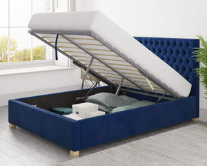 Better Nighty Night Blue Ottoman Bed-Better Bed Company-Single-Better Bed Company