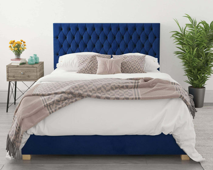 Better Nighty Night Blue Ottoman Bed