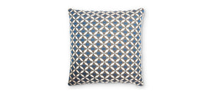 Maze Rattan Fabric Scatter Cushions Mosaic Blue-Better Bed Company