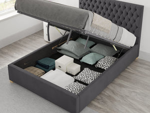 Aspire Furniture Nightingale Ottoman Bed-Ottoman Beds-Aspire Furniture-Single-Better Bed Company