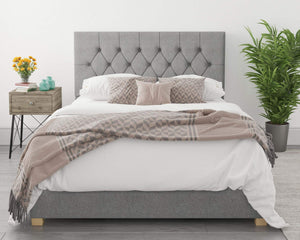 Better Finchen Grey Ottoman Bed-Better Bed Company