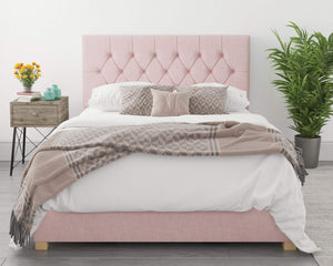Better Finchen Pink Ottoman Bed-Better Bed Company