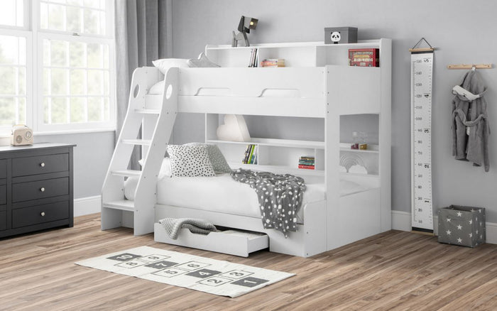 Julian Bowen Orion Triple Bunk White
