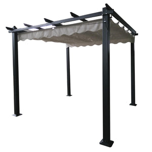 Signature Weave Pergola Retractable Canopy-Better Bed Company