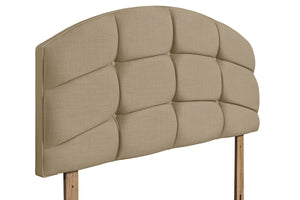 Swanglen Pesaro Headboard-Swanglen-3ft Single-Gem Beige-Better Bed Company
