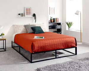 GFW Platform Metal Bed Frame-GFW-Single-Better Bed Company