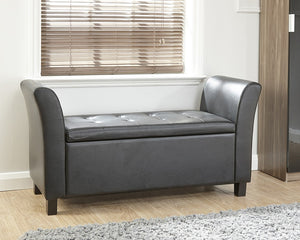 GFW Verona Window Seat Faux Leather-GFW-Black-Better Bed Company