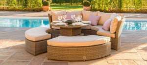 Maze Rattan Winchester Lifestyle Suite With Rising Table-Better Bed Company