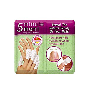 Professional Design 5 Minutes Mani Healing Nail Cuticle Mask Non-Toxic Repair Promote Nail Growth Mask Manicure Tools - white