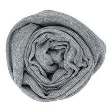Load image into Gallery viewer, cashmere of nepal scarf folded with Shawl Dim Grey colours.