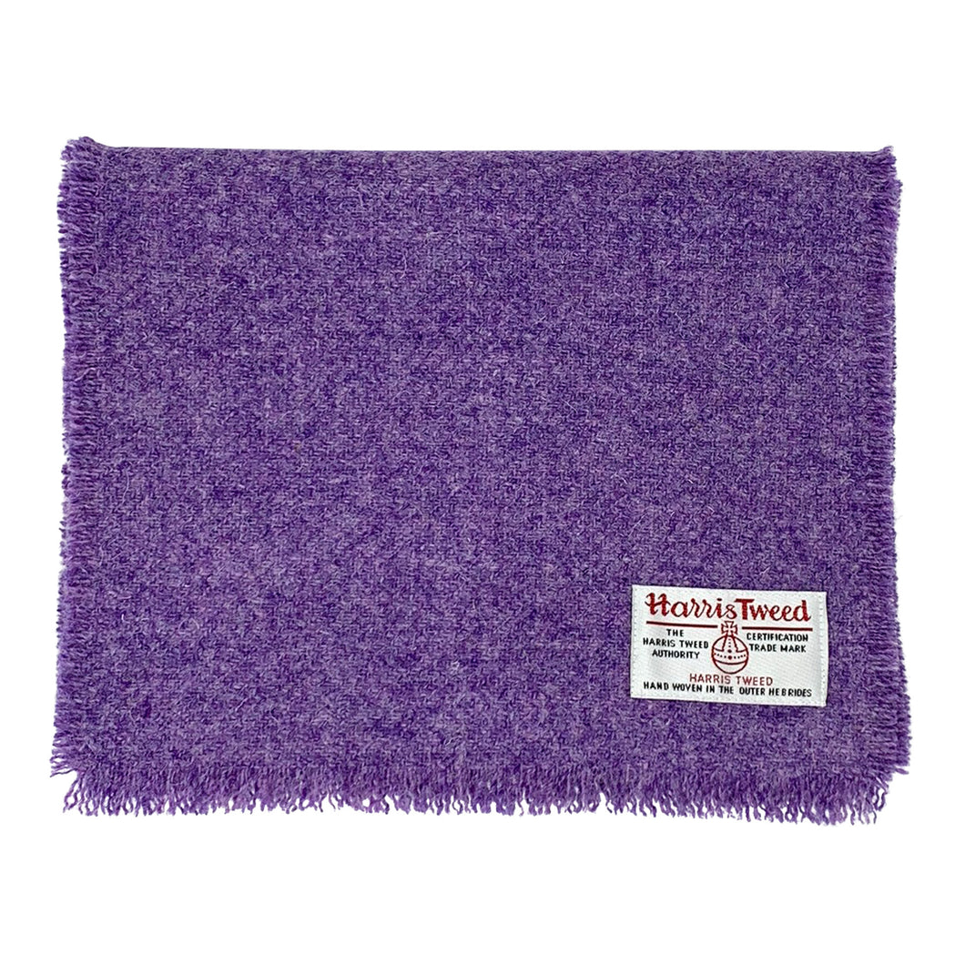 Harris Tweed of Scotland Scarf Purple