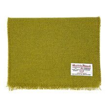 Load image into Gallery viewer, Harris Tweed of Scotland Scarf in a Green colour