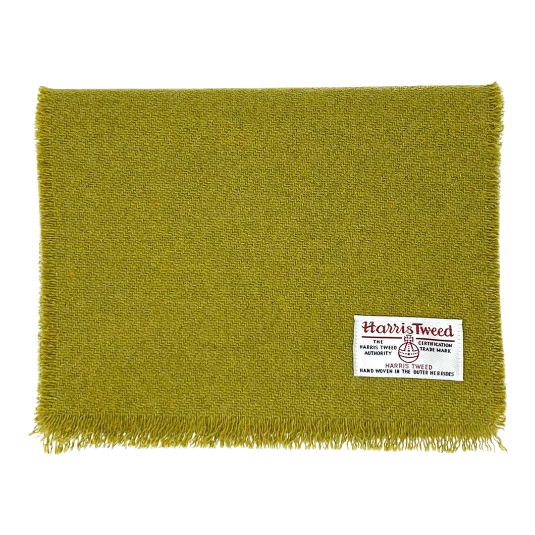 Harris Tweed of Scotland Scarf in a Green colour