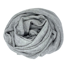 Load image into Gallery viewer, Cashmere Grey Scarf