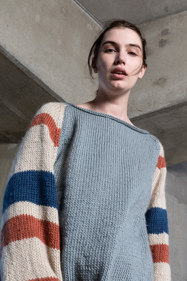Pure merino wool over sized jumper