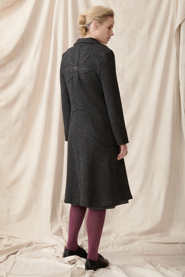 Eugenia Coat - Boiled Wool