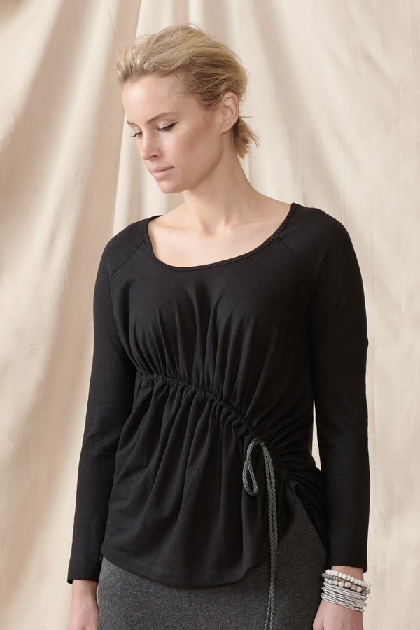 Geranium Top - Hemp/organic cotton stretch knit