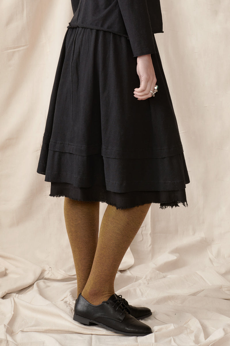Clover Skirt - Hemp/organic cotton knit