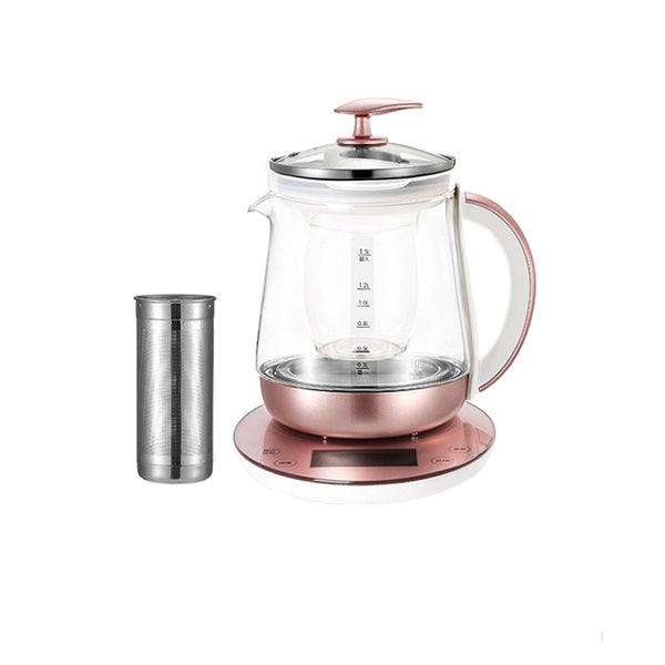 Electric Kettle Health Pot Fully Automatic Thickened Glass Multi-Function Electric Kettle 1.5 Liters