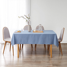 Load image into Gallery viewer, Minimalist  Square Solid Polyester Tablecloth for Wedding Restaurant Party Home Tablecloth