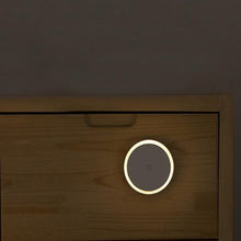 Load image into Gallery viewer, Warm White Battery-Powered Smart Induction LED Night Light with Strong Stickability 3M  Adhesive Tape