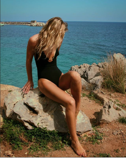Classic ISKKA Suit, fit is beautiful for all body types. This is our best selling one piece suit.