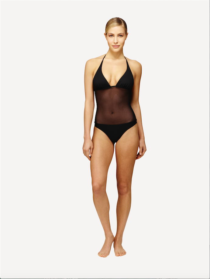 ISKKA's Audra suit fits all body types. It hugs your body, feeling like a second skin. Wear it with a pair of jeans or to the beach.
