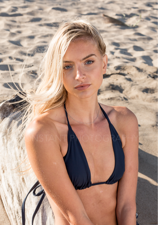 An ISKKA must have. Simple elegance. Adjustable spaghetti bikini top, with wider straps designed for comfort.
