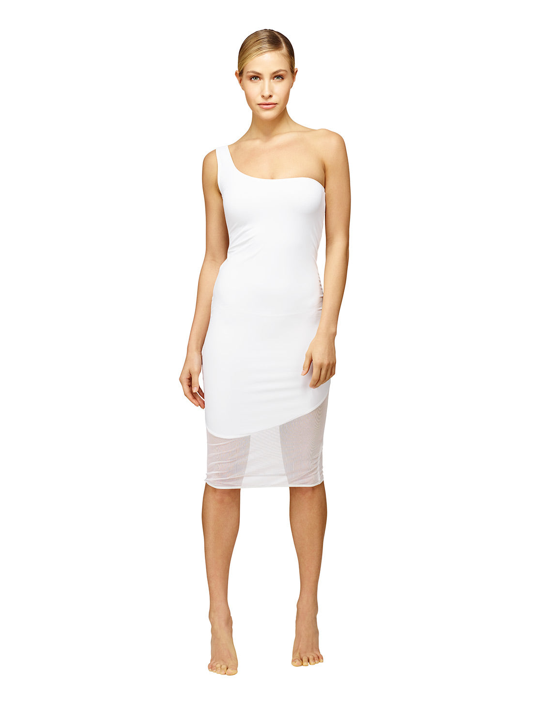 Off side classic ISKKA pool side cocktail dress. We love this dress.