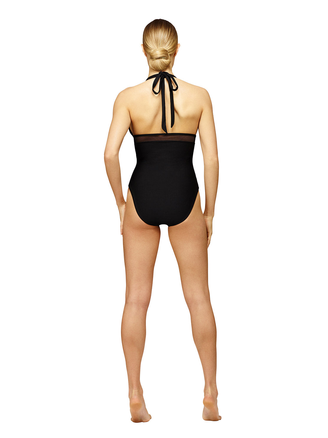 Sandrine Halter One-Piece Black