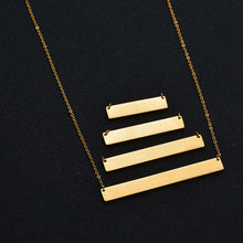 Load image into Gallery viewer, Personalized Bar Pendant