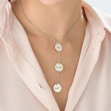 Load image into Gallery viewer, Personalized Y Necklace