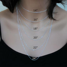 Load image into Gallery viewer, Handwritten Style Necklace