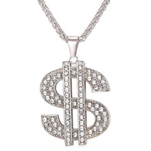 Load image into Gallery viewer, Dollar Money Necklace & Pendant