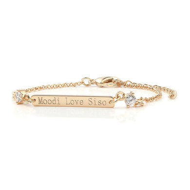 Bracelet Custom Engraved Name Bracelet