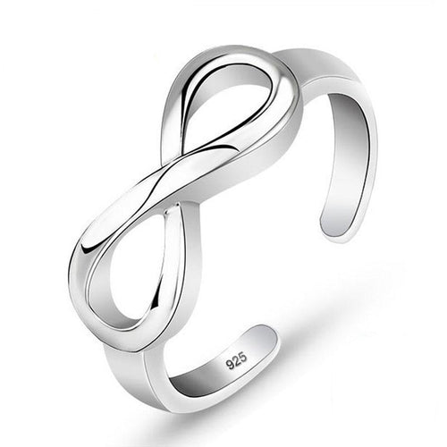 Resizable  Infinity Ring