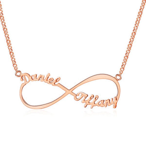 Infinite Love Name Necklace