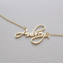 Load image into Gallery viewer, Calligraphy Name Necklace