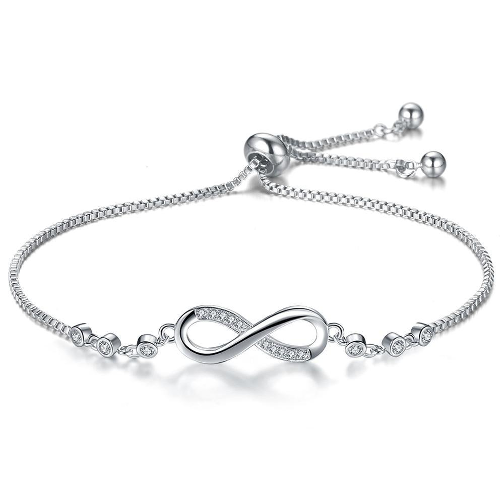 Infinity Adjustable Bracelets & Bangles