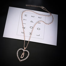 Load image into Gallery viewer, Letter Personalized Name Choker Monogram Necklace