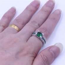 Load image into Gallery viewer, Birthstone Bridal ring