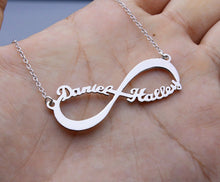 Load image into Gallery viewer, Infinite Love Name Necklace