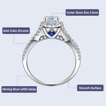 Load image into Gallery viewer, 3 Pcs Wedding Rings