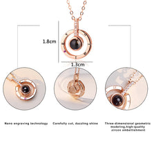 Load image into Gallery viewer, I Love you Projection Necklace