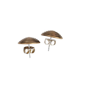AYO Bronze Spirals Stud Earrings