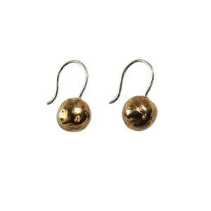 MUSTIKA Bronze Ball Drop Earrings