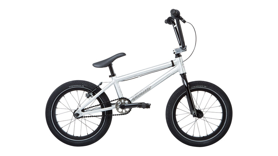 "Fit Bike Co Misfit 16"" BMX (Brushed Aluminum)"
