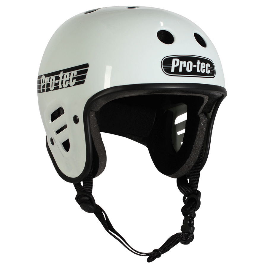 Protec - Full Cut - Certified  (Gloss White)